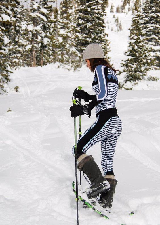ski pants matchy sexy