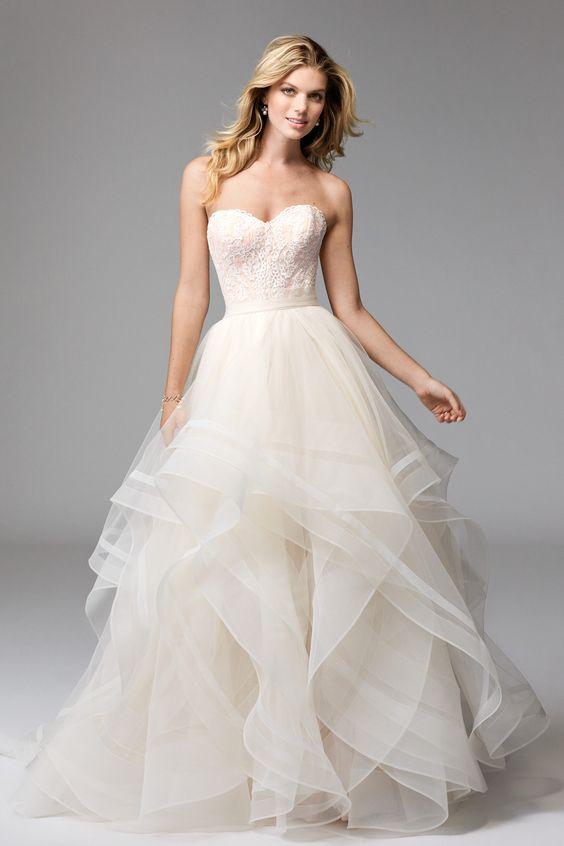 white corset dress ruffle