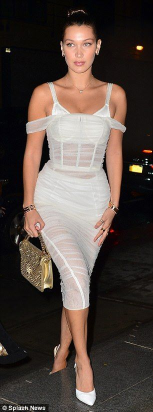 white corset dress sheer