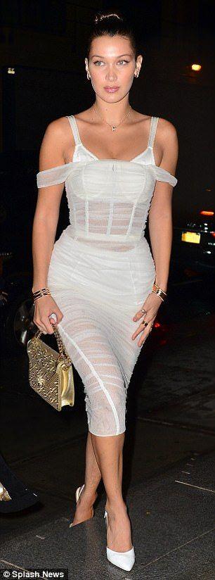 white corset dress sheer