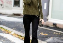 best flared pants outfit ideas