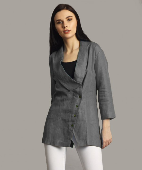 4605750a92 How to Wear Linen Jacket  15 Casual   Stylish Outfit ideas - FMag.com