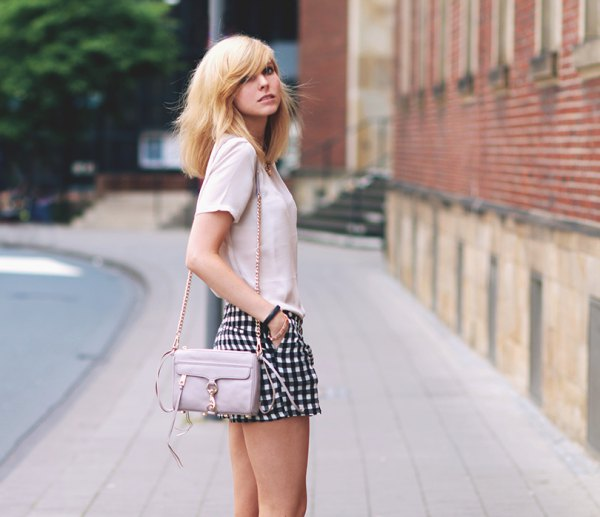 best checkered shorts outfit ideas