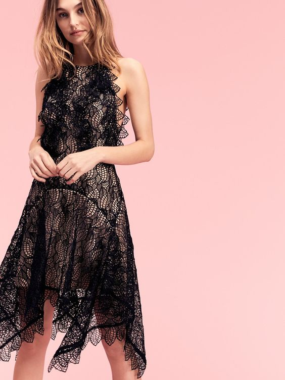 How To Wear High Low Lace Dress Ultimate Style Guide Fmag