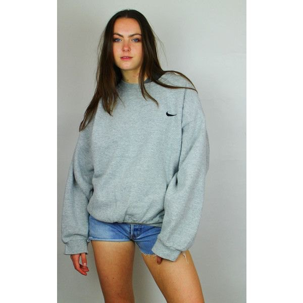 grey oversize logo embroidered hoodie light blue mini denim shorts