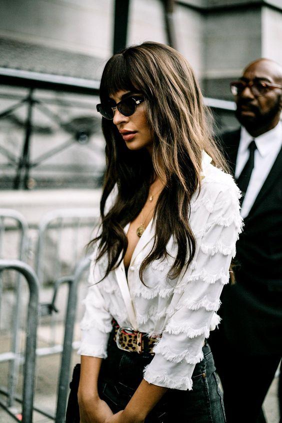 ruffle sleeve blouse white ruffles