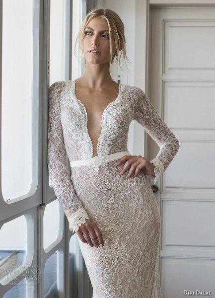 white lace scalloped neckline bodycon midi dress