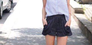 best silk shorts outfit ideas