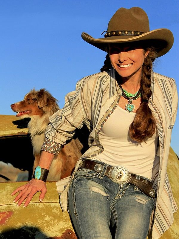 best cowboy hat outfit ideas for women