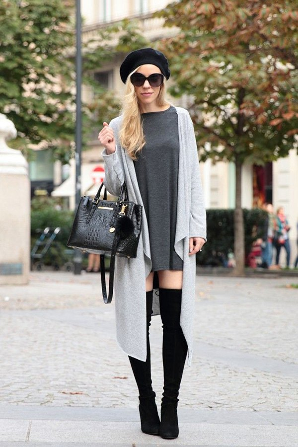 best duster sweater outfit ideas