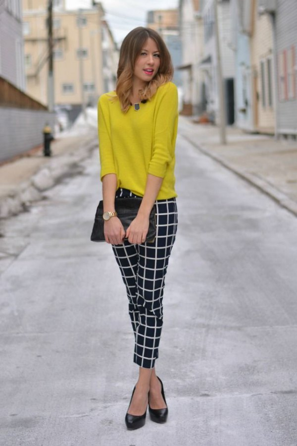 best ankle pants outfit ideas for women