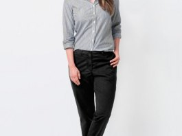 best black chinos outfit ideas for women
