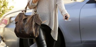 best leather ballet flats outfit ideas