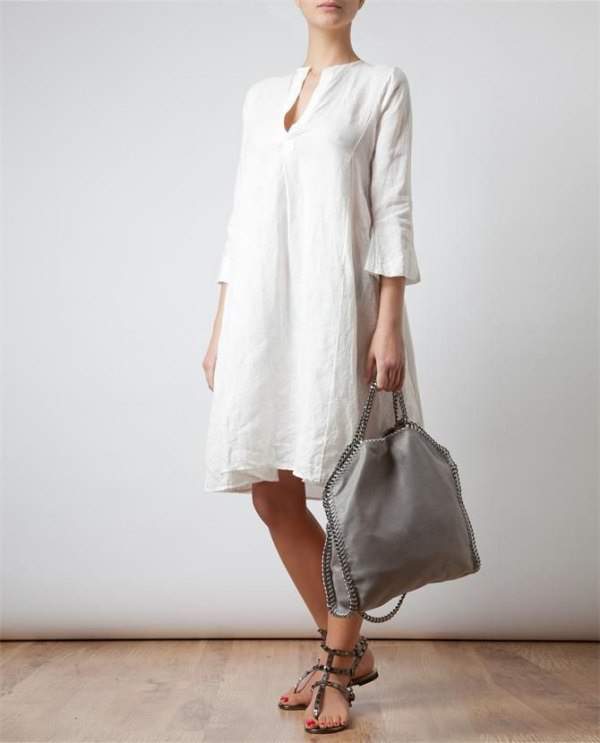 best white tunic dress outfit ideas