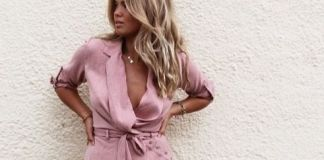 pink sundress wrap