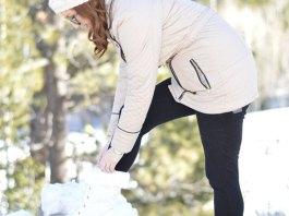 best white snow boots outfit ideas for women