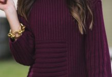 best purple sweater outfit ideas for women