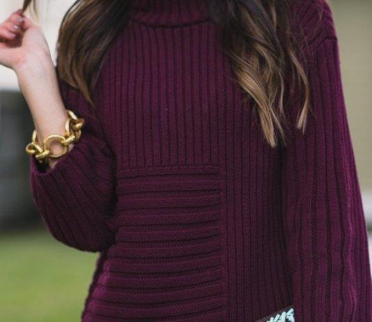 best purple sweater outfit ideas for women