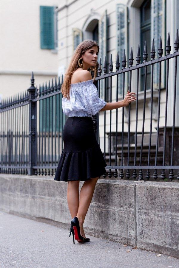 best mermaid skirt outfit ideas