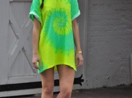 best yellow t shirt dress outfit ideas