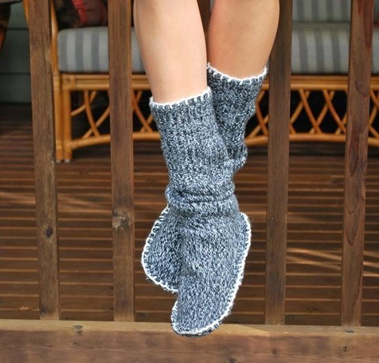 grey mid calf boots with matching sweater dress