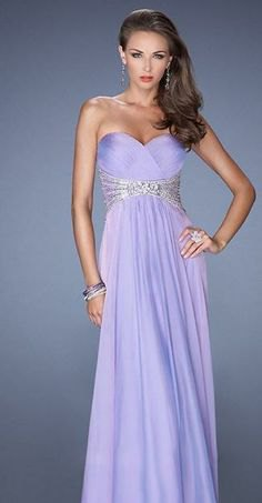 lavender silk and tulle maxi prom dress with sequin details