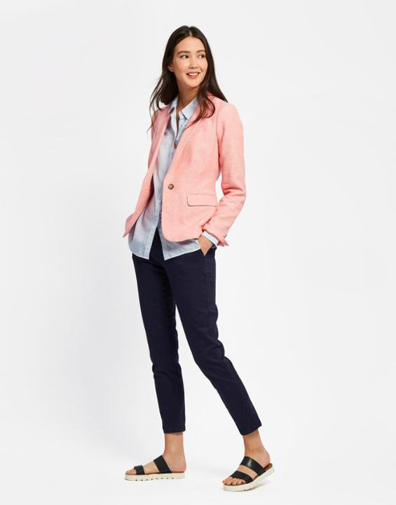 best linen blazer outfit ideas for women