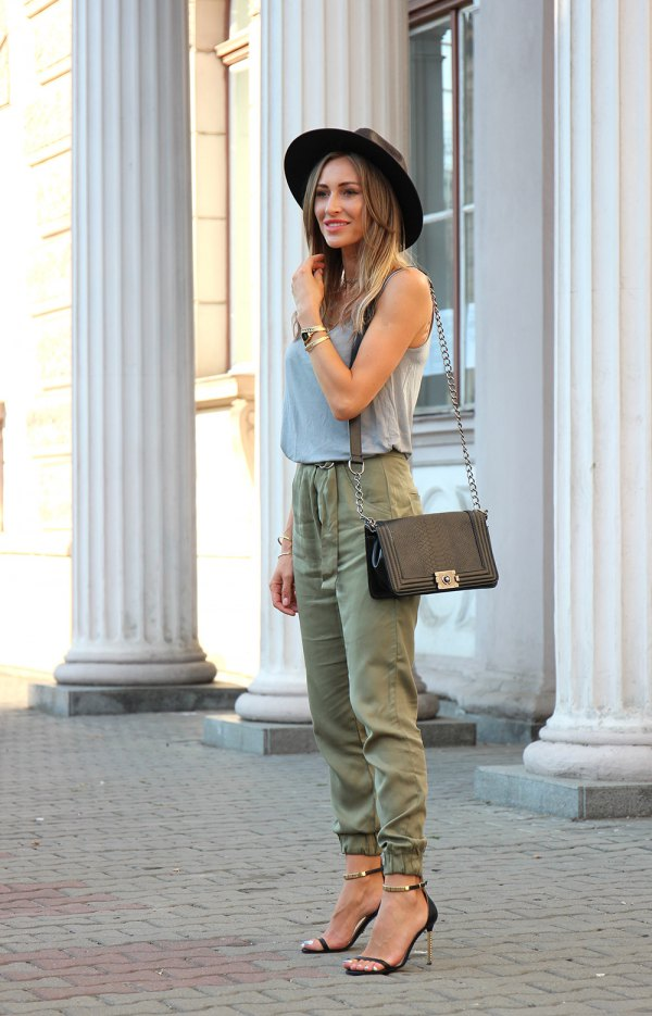 unique green joggers outfit and 73 army green joggers outfit