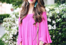 best hot pink blouse outfit ideas for women