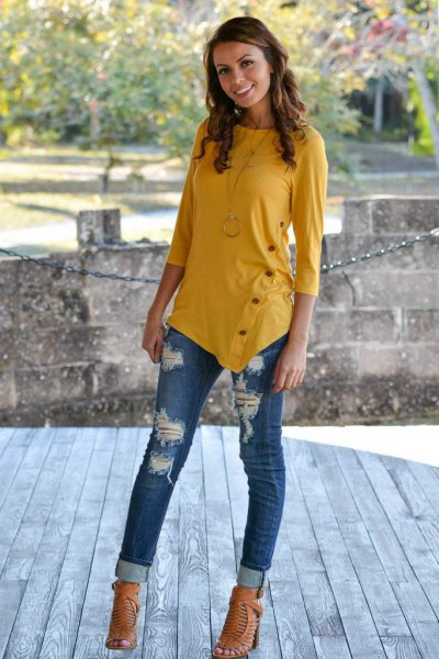 How to Style Mustard Yellow Top 15 Cheerful Outfit Ideas for Women - FMag.com