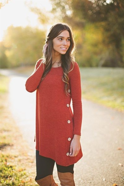 How To Wear Extra Long Tunic Tops For Leggings 15 Best