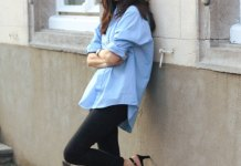 best oversized shirt outfit ideas for women