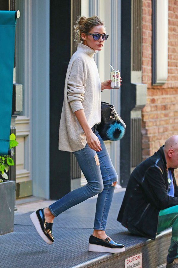 How to Wear Platform Slip On Sneakers: 15 Amazing Outfit