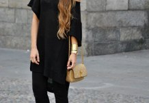 best black bell bottoms outfit ideas for ladies
