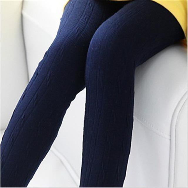 navy blue sweater leggings with lemon yellow mini dress