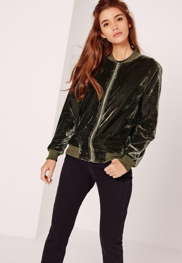 Top 13 Amazing Velvet Bomber Jacket Outfit Ideas for Ladies - FMag.com f10898cb0