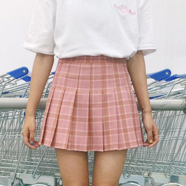 ac9457e3f10 How to Wear Plaid Pleated Skirt  Top 15 Attractive Outfit Ideas ...
