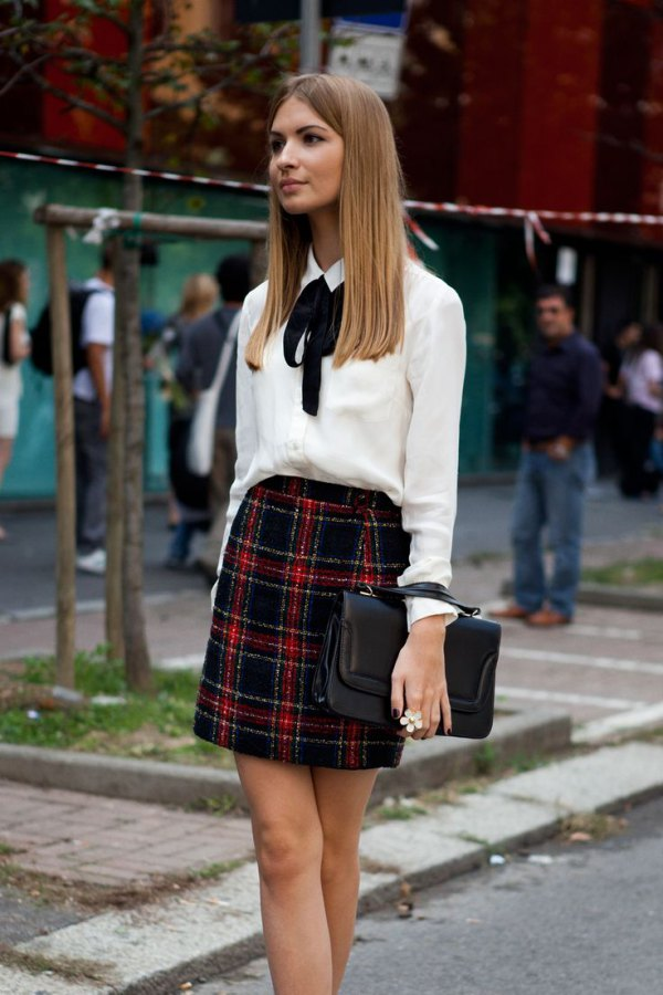 best tie front blouse outfit ideas for women