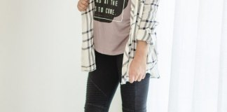 best cool graphic tee outfit ideas for women