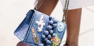 best denim handbag outfit ideas for ladies