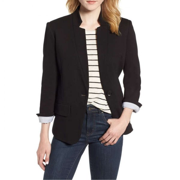 best fitted blazer outfit ideas for women