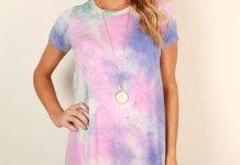 best tie dye dress outfit ideas for women