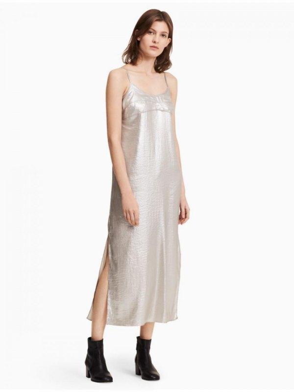 best metallic dress outfit ideas for women