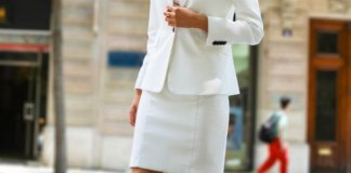 best white skirt suit outfit ideas for women