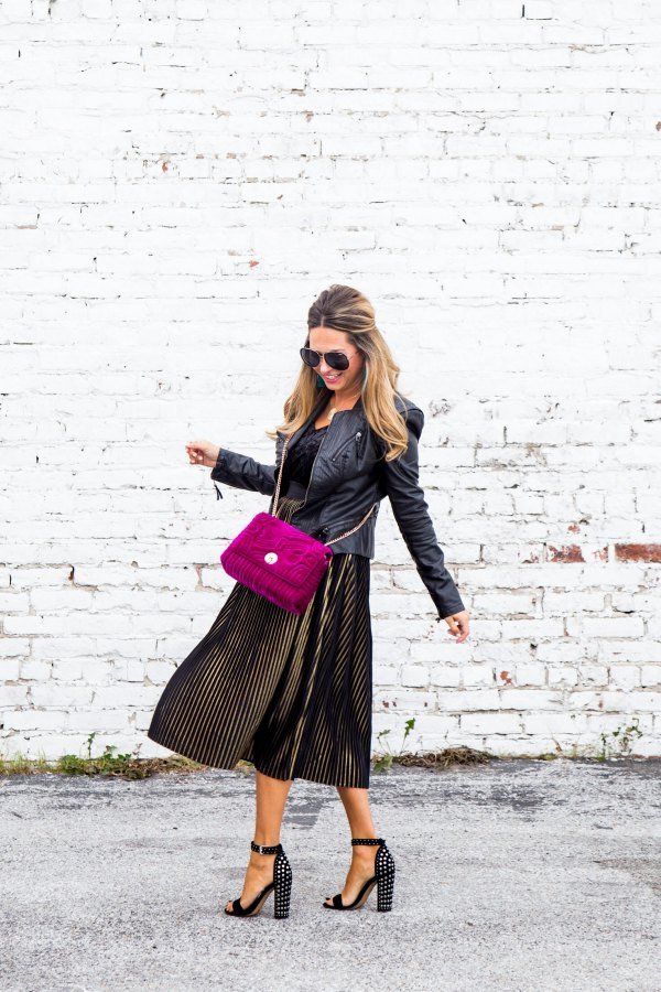 best velvet midi dress outfit ideas for women