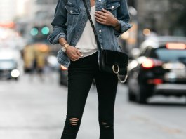 best black ripped skinny jeans outfit ideas