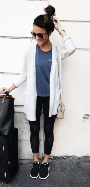 ae1c9acea How to Style White Cardigan Sweater: Best 13 Refreshing Outfits for ...