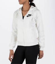 white windbreaker with black running pants