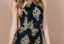 best halter top dress outfit ideas for women