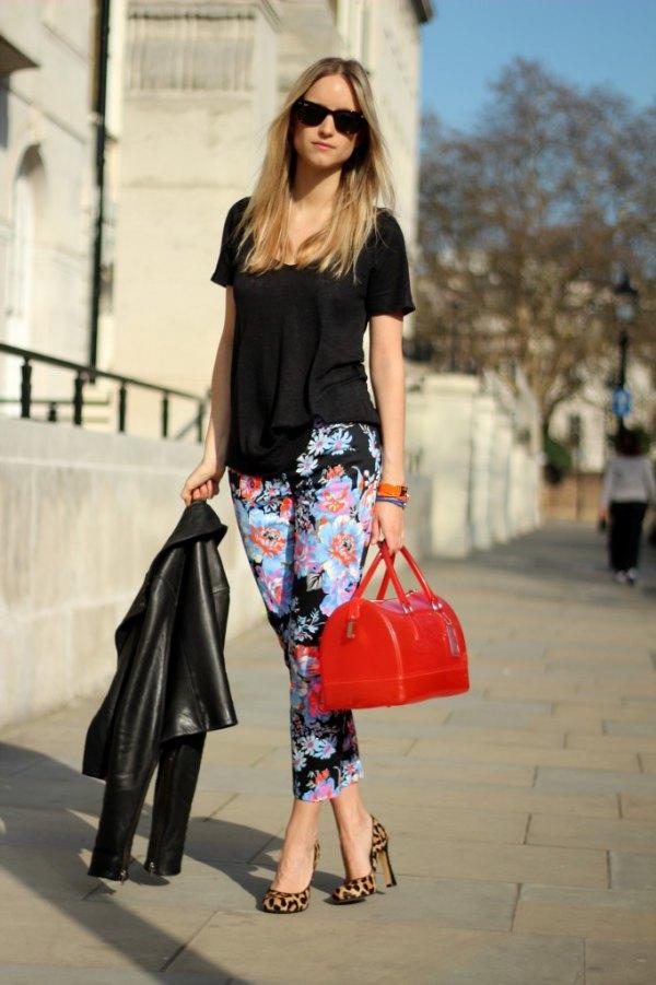 best leopard heels outfit ideas for women